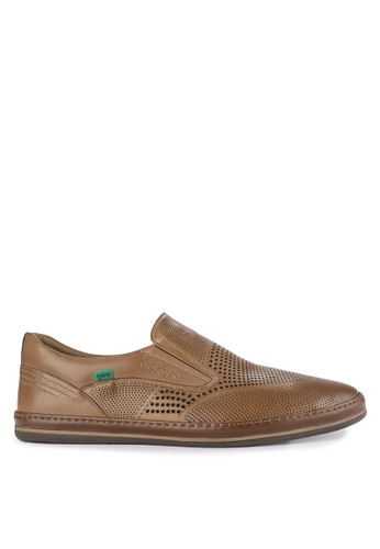 Kickers brown Man Shoes 3122T BF010SHBAD83DFGS_1