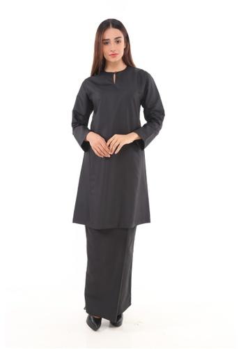 Amar Amran black Baju Kurung Pahang Qirana 6F066AA516CD34GS_1