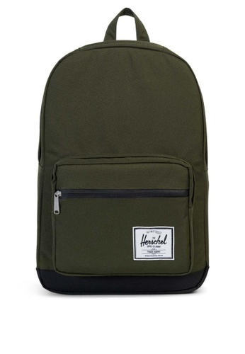 Herschel green Pop Quiz Backpack HE958AC0KA2WPH_1
