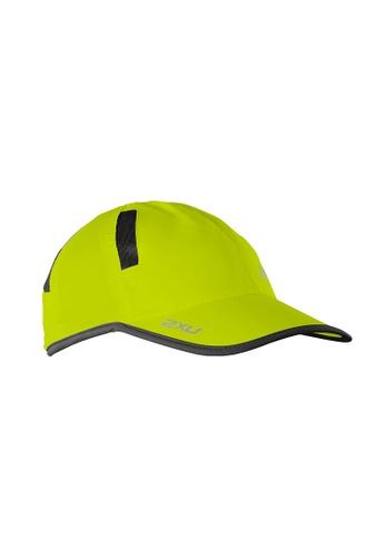 2XU yellow and multi Unisex Run Cap 2X697AC2VMJOHK_1