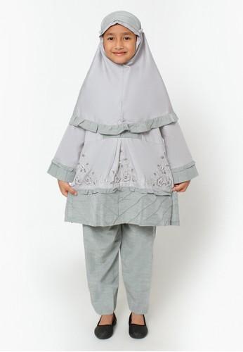 Arafah grey Setelan Anak Muslim Clara D8404KA0695D41GS_1