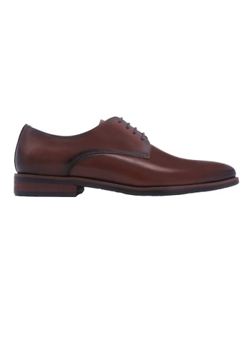 Simon Carter brown Simon Carter Lace-up Derbies - Brown 4D365SH605DC55GS_1
