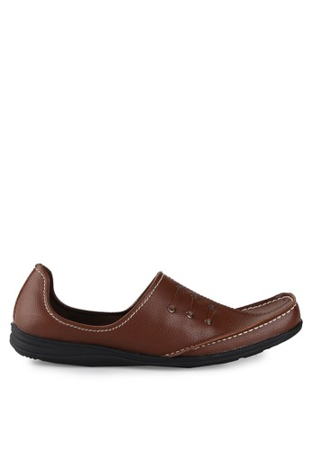 Dr. Kevin brown Loafers, Moccasins & Boat Shoes 13184 Coklat Leather DR982SH0UO29ID_1