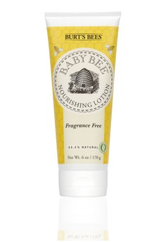 Baby Bee Nourishing Lotion - Fragrance Free 6 oz