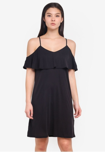 ICHI black Like Dress 1BAC8AAE503874GS_1