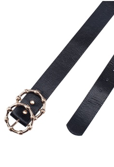 66ca425fa 13% OFF River Island Faux Leather Textured Ring Belt S$ 24.90 NOW S$ 21.70  Sizes S M L