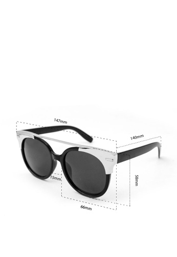 ce5f42380a8 Shop Peculiar and Odd Peculiar Round Oversized 15707 Mirrored Sunglasses  Online on ZALORA Philippines