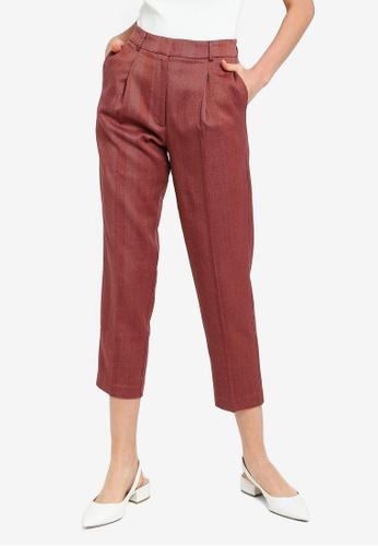 FORCAST pink Coraline Slim Pants FFD34AA15D4E2EGS_1