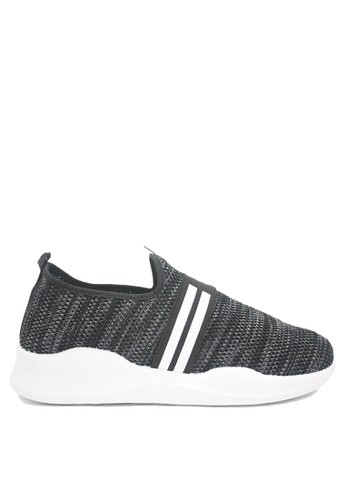 Dr. Kevin black and grey Dr. Kevin Mens Sneakers 889-501 - Black ED76DSH12A141CGS_1