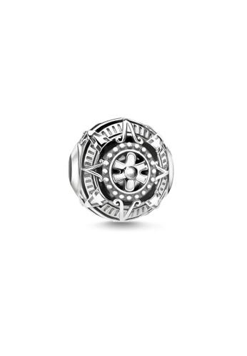 """THOMAS SABO silver Bead """"Mayan calendar"""" DEDF1AC326CB68GS_1"""