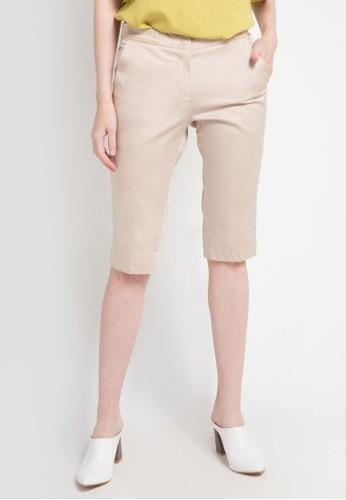 WHITEMODE brown Breanna Shorts C0C69AA8AE9891GS_1