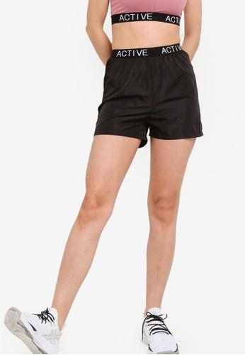 ZALORA ACTIVE black Running Shorts DD717AA35BDF20GS_1