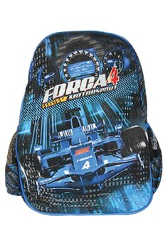 Kids Unisex Big School Bag BackPack BP-J1 (Blue)