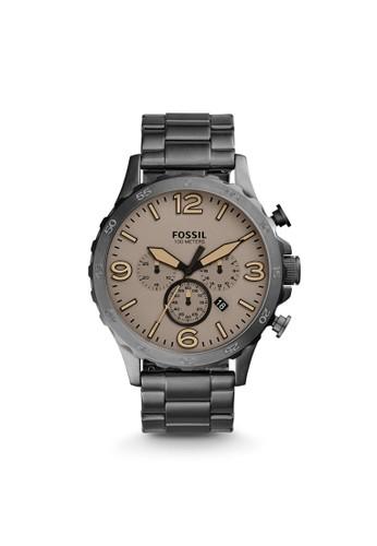 Fossil NATE時尚型男錶 JResprit 台北1523, 錶類, 時尚型