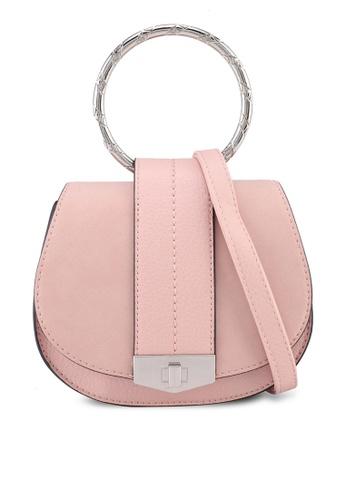 Call It Spring pink Legalla Handbag A84A0ACCF1D695GS_1