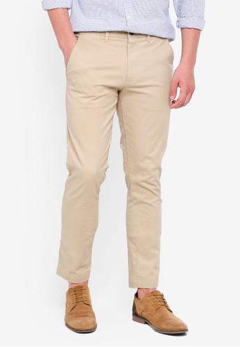 GAP beige Skinny Stretch Khaki Pants 761B3AA0AD054EGS_1