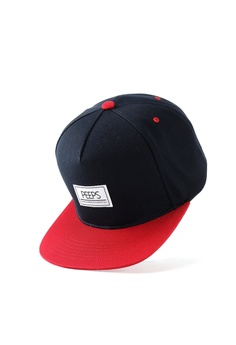 09ca8e6b Peeps red and navy 5p Back Star Snapback BAEF1AC3891893GS_1