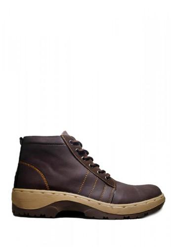 D-Island brown D-Island Shoes Boots Deployment Combat Dark Brown 84A3BSH50B3B38GS_1