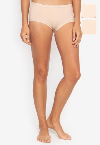 BENCH beige 3-in-1 Full Panty Pack C497DUS29CA3CDGS_1