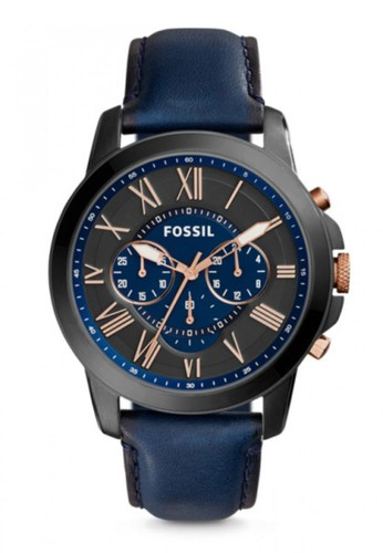 Fossil  GRANT時尚esprit 西裝男錶 FS5061, 錶類, 紳士錶