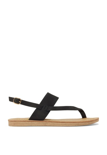 ROC Boots Australia black Banyan Sandal RO289SH17BRASG_1