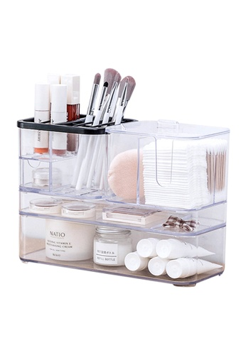 HOUZE HOUZE - KLEAR Cosmetic Table Organiser (Set of 4) E8A1AHL5240FDCGS_1