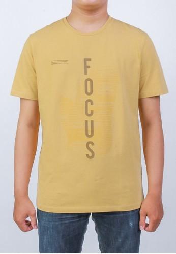 Manzone yellow FRAME-YELOW T-shirt B814FAA804AF3DGS_1