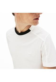 861e5b2d95 40% OFF Lacoste Men's Lacoste Motion Contrast Crew Neck Cotton T-shirt-TH4245-10  S$ 119.00 NOW S$ 71.40 Sizes XS S M XL XXL