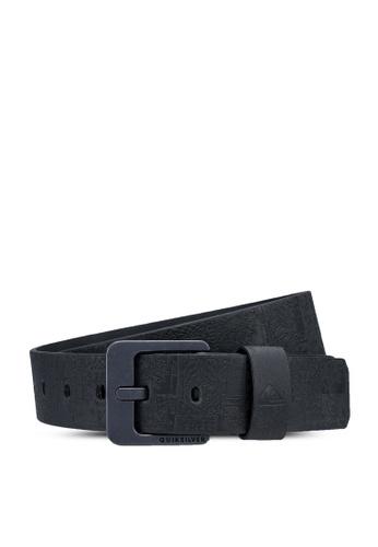 Quiksilver black Always Primo Faux Leather Belt A620FACE32CB41GS_1