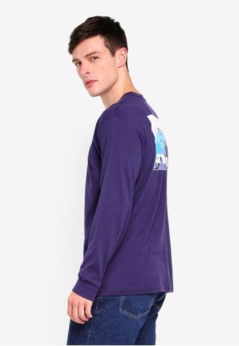 Factorie 多色 Long Sleeve Graphic T Shirt 3DC15AAEB470A3GS_1