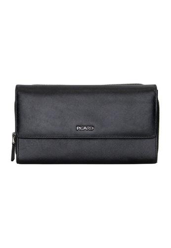 Picard black Picard Saffiano Clutch Bag 54F2EAC057363EGS_1