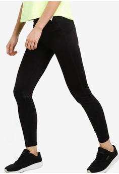 1f933e6f32313 Cotton On Body black Fleece Lined Tights 736A3AACA187FEGS_1