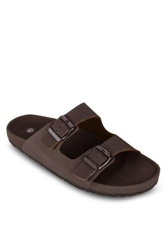 Basic Matte Faux Leather Sandals