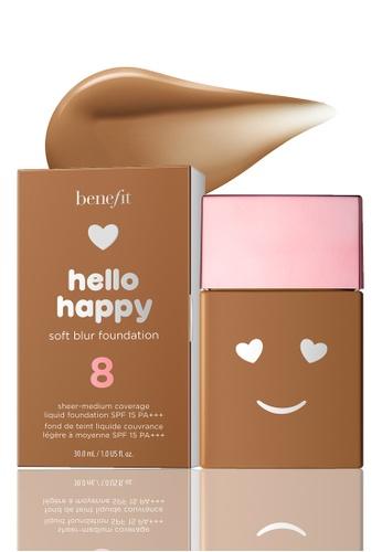 Benefit beige Benefit Hello Happy Soft Blur Foundation Shade 08 F11B7BEA596A29GS_1