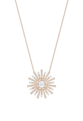 SWAROVSKI gold Sunshine Long Necklace 35BDAAC3C6504AGS_1