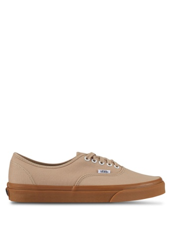VANS brown Authentic Sneakers VA142SH0SWSXMY_1
