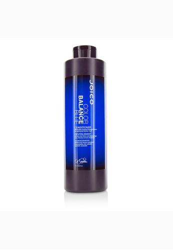 Joico JOICO - Color Balance Blue Conditioner (Eliminates Brassy/Orange Tones on Lightened Brown Hair) 1000ml/33.8oz 276E3BECACE825GS_1