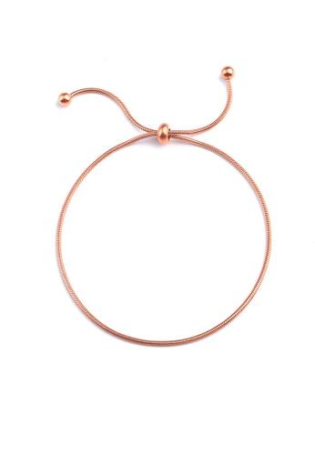 CELOVIS gold CELOVIS - Talia Adjustable Bracelet in Rose Gold E2FC4AC9A010F3GS_1
