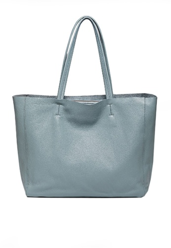 Twenty Eight Shoes blue VANSA Top Layer Cowhide Tote Bag VBW-Tb1313 31ECFACB65555BGS_1