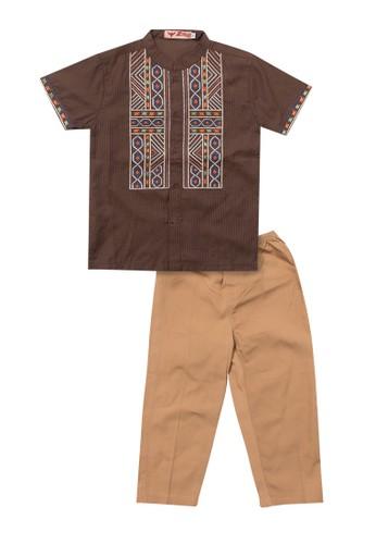 2nd Red Kids brown Koko Zigzag 59175KAF4E2860GS_1