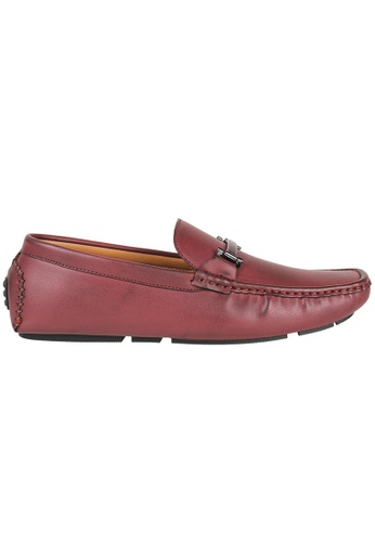 Tomaz red Tomaz C368 Buckled Loafers (Wine) E425FSHFC55660GS_1