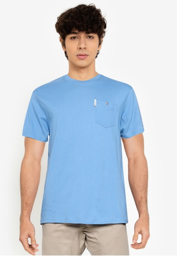 Ben Sherman blue Signature Pocket Tee 611FEAA489D409GS_1