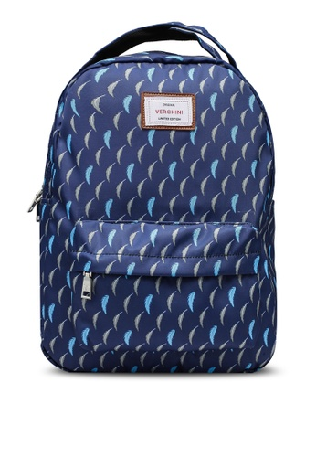 Verchini blue School Backpack 9E85EAC463BBFBGS_1