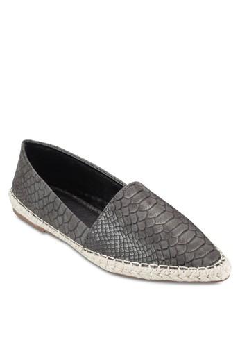 暗紋尖頭麻編懶人鞋、 女鞋、 鞋SomethingBorrowed暗紋尖頭麻編懶人鞋最新折價