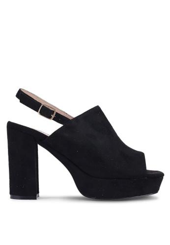 582feb01c24 Buy Carlton London Chunky Sling Back Heels Online on ZALORA Singapore