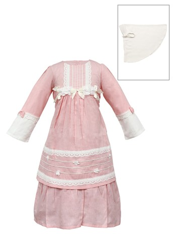 INFINE pink Muslim Dress Anak Esm 231 2/5 5D1B8KADAC9A7EGS_1
