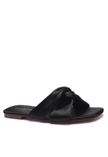 Twenty Eight Shoes Satin Bow Slippers 101-13 9F549SHAEE22F0GS_1