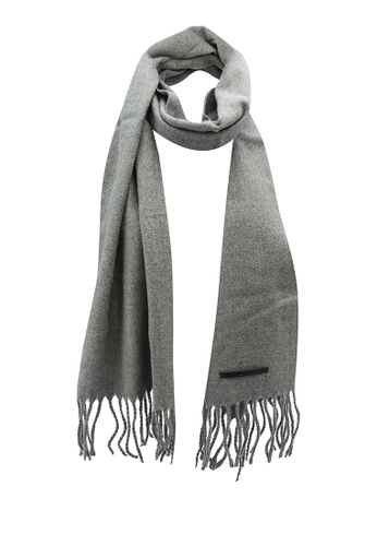 Only & Sons grey Carlo Wool Scarf 5647BACD29E80BGS_1