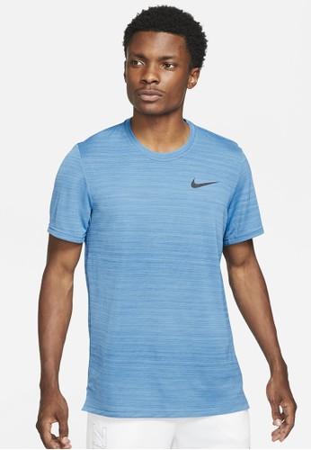 Nike blue As M Nk Df Superset Top Ss 7D487AABF922EEGS_1