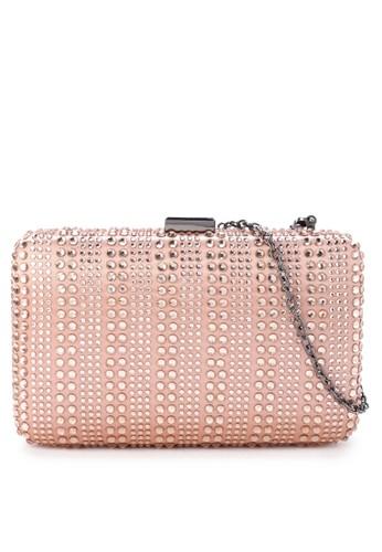 LYONS pink Demi Clutch EAB43ACA87C146GS_1